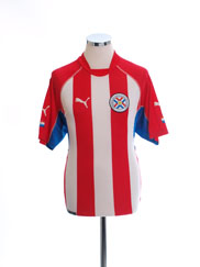 2002-04 Paraguay Home Shirt XL