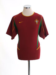 2002-04 Portugal Home Shirt M