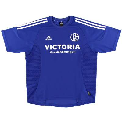 2002-04 Schalke Home Shirt M