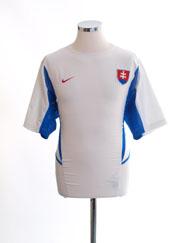 2002-04 Slovakia Away Shirt *Mint* M