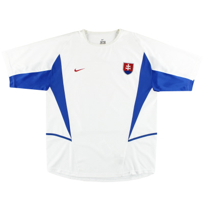 2002-04 Slovakia Nike Away Shirt XL