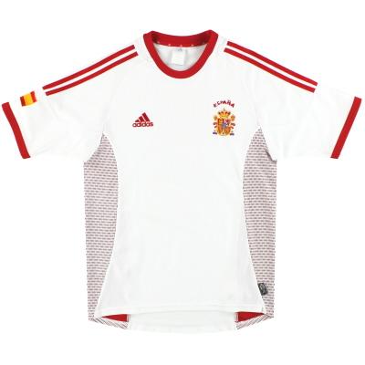2002-04 Spain adidas Away Shirt S