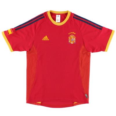 2002-04 Spain adidas Home Shirt M