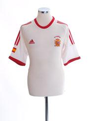 2002-04 Spain Away Shirt M