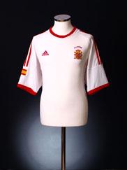 2002-04 Spain Away Shirt S