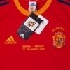 2002-04 Spain Home Shirt 'Espana vs Mexico' *BNWT* L