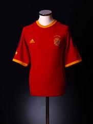 2002-04 Spain Home Shirt M