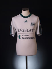 2002-04 St Gallen Home Shirt S