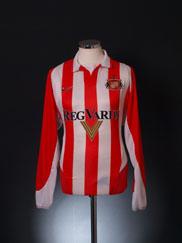 2002-04 Sunderland Home Shirt L/S L