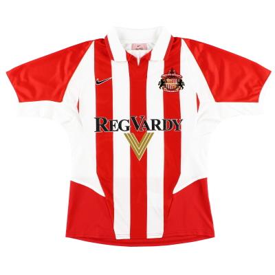 2002-04 Sunderland Home Shirt S