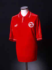 2002-04 Switzerland Home Shirt *As New* XL