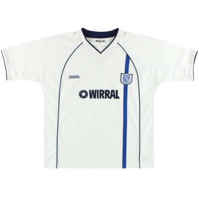 2002-04 Tranmere Rovers Home Shirt M
