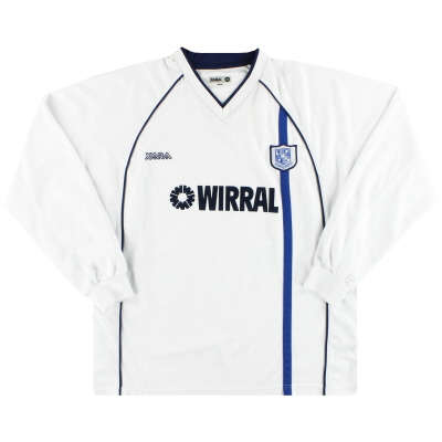 2002-04 Tranmere Rovers Home Shirt L/S XL