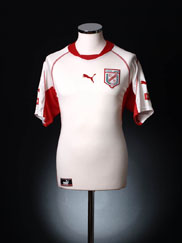 2002-04 Tunisia Home Shirt L
