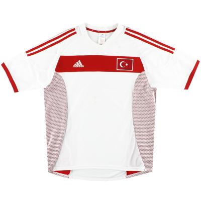 2002-04 Turkey adidas Away Shirt L