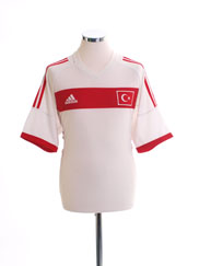 2002-04 Turkey Away Shirt M