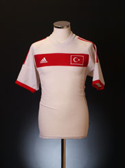 2002-04 Turkey Away Shirt L