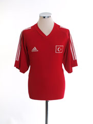2002-04 Turkey Home Shirt M