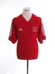2002-04 Turkey Home Shirt *Mint* M
