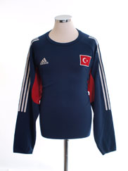2002-04 Turkey Training Top L