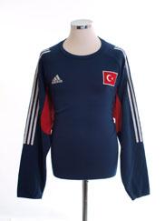 2002-04 Turkey Training Top L