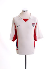 2002-04 USA Home Shirt XL