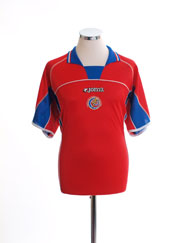 2002 Costa Rica Home Shirt XL