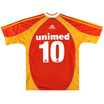 2002 Fluminense adidas Third Shirt #10 L