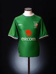 2002 Ireland 'World Cup' Home Shirt M