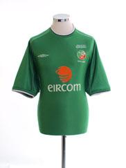 2002 Ireland 'World Cup' Home Shirt XL