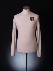 2002 Italy Away Shirt L/S XL