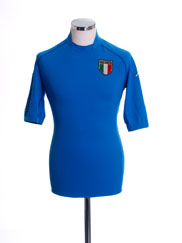 2002 Italy Home Shirt S