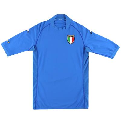 2002 Italy Kappa Home Shirt L