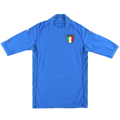 2002 Italy Kappa Home Shirt L