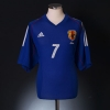 2002 Japan Home Shirt Nakata #7 XL