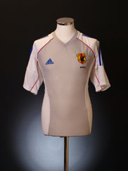 2002 Japan Player Issue Away Shirt L