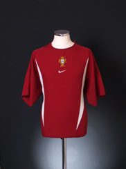 2002 Portugal Training Shirt XL