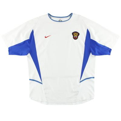 2002 Russia Nike Home Shirt XL