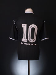 2002 Vasco Da Gama Away Shirt #10 L