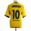2002 Vitoria Third Shirt #10 M