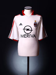 2003-04 AC Milan Away Shirt XL