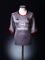 2003-04 AC Milan Third Shirt *BNIB* XL