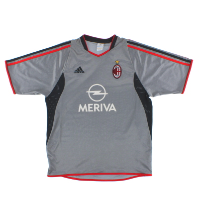 2003-04 AC Milan Third Shirt L