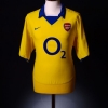 2003-04 Arsenal Away Shirt Henry #14 XL