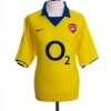 2003-04 Arsenal Away Shirt Henry #14 *Mint* L