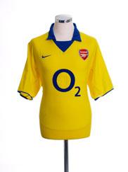2003-04 Arsenal Away Shirt XL.Boys