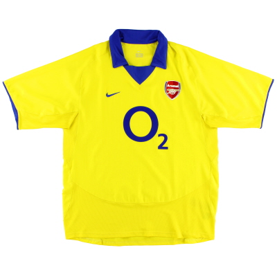 2003-04 Arsenal Away Shirt *Mint* XL