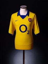 2003-04 Arsenal Away Shirt L.Boys