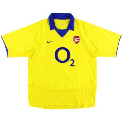 2003-04 Arsenal Away Shirt M.Boys