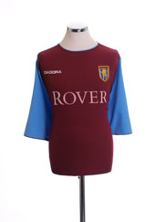 2003-04 Aston Villa Home Shirt #3 *Mint* XXL